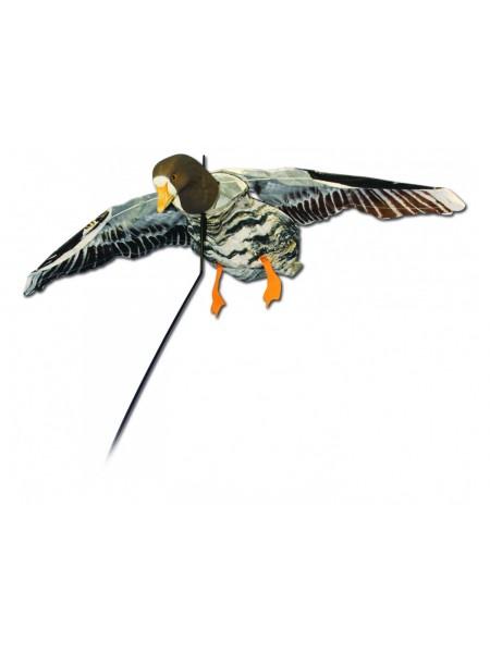 Чучело белолобого гуся летящего Deadly