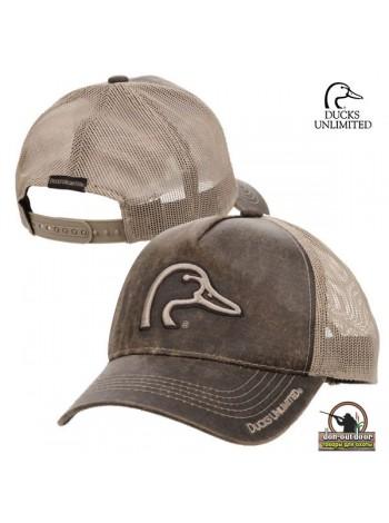 Кепка Ducks Unlimited, коричневый/бежевая сетка