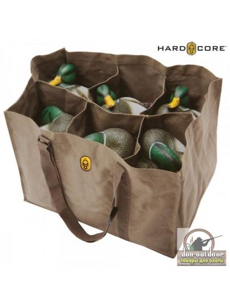 Сумка HardCore для переноски чучел на 6 ячеек
