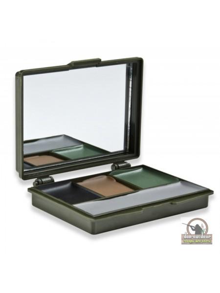 Краска грим для лица Mossy Oak,  4 цвета с  зеркалом