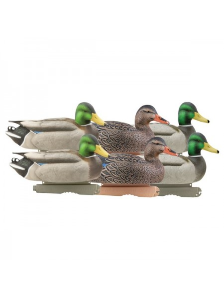 Чучела кряквы GreenHead Gear Pro-Grade Mallards/Active Pack, 6 штук