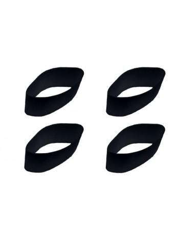 Мембраны черные для манков на марала, изюбря, оленя E.L.K Inc.POWER BUGLE, 4 шт.