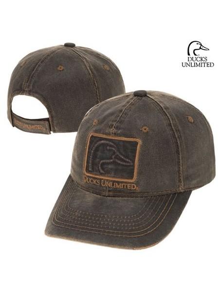 Кепка Ducks Unlimited промасленная коричневая