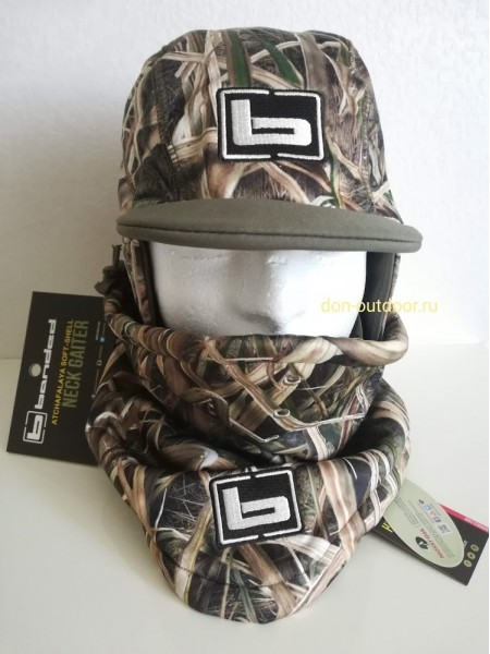 Комплект шапка и воротник  Banded Gear Atchafalaya, Mossy Oak Blades.