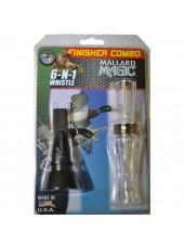 Комплект манков на утку Buck Gardner The Finisher Combo (Mallard Magic+ 6-in-1 Whistle)
