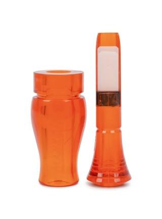 Манок на утку 2-х язычковый серии BA CLASSIC (оранж)