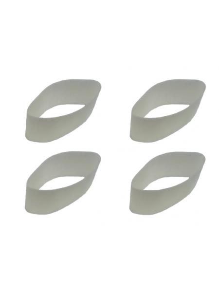 Мембраны белые для манков на марала, изюбря, оленя E.L.K Inc.POWER BUGLE, 4 шт.