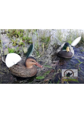 Электромеханическое чучело кряквы на базе GreenHead Gear Life-Size