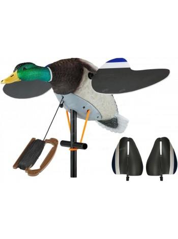 Чучело кряквы Lucky Duck с вращающимися крыльями - Lucky Air Force, без мотора