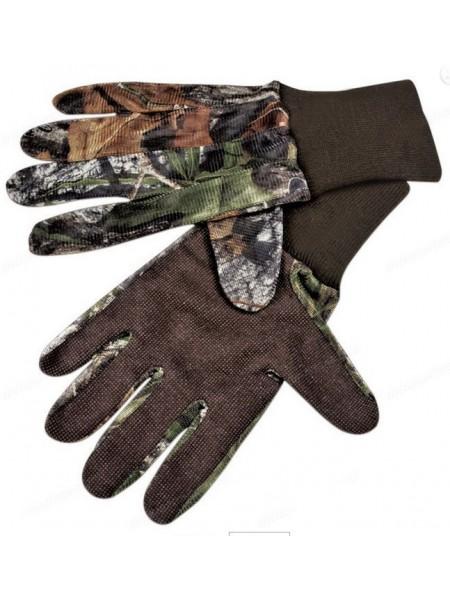 Перчатки для охоты из сетчатой ткани Mossy Oak Hunting S/M