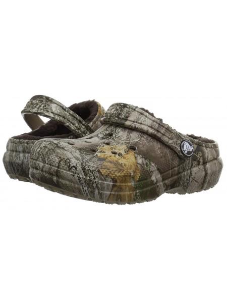 Сабо утепленные Crocs  Baya, Realtree Xtra