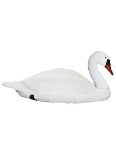 Чучело Лебедя белого, вода-поле. Спокойный